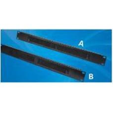 Acconet Brush Panel 1U, 19″, Back